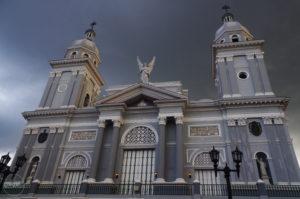 Catedral en Santiago de Cuba, 2016